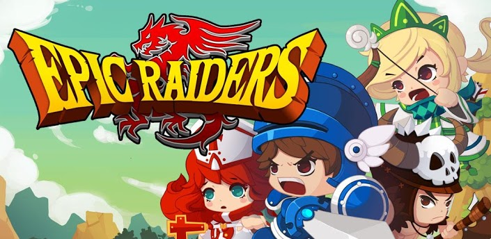 Epic Raiders apk - крутая RPG для андроид